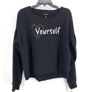 Jessica Simpson | Dasha Love Yourself Top L